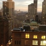 view of Central Park. amazing.