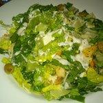 Lime Chicken Ceasar Salad