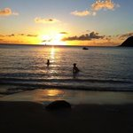 Sunset at Divi Bay-Christmas 2012