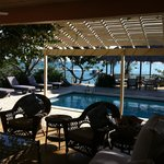 Villa Sitting Area and Pool