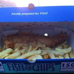 fresh fish & chips just how I like it