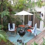 Dining area - private patio