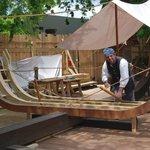 A colonial shipbuilder.