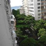 Vista da sacada do Hotel