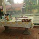 Otimo Cafe da manha.