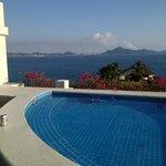 plunge pool on balcony