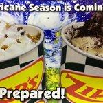 Hurricanes for dessert