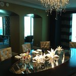 Dining Room and Sitting Area - Presidential Suite