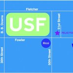 Map from USF
