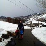 Walkway to Gondola