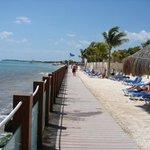 Boardwalk at Ocean Maya