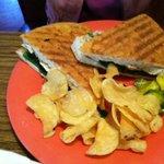 Paninni Chicken Sandwich