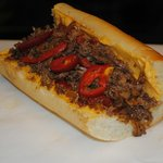 Philly Cheese Steak w/ Cheese wiz