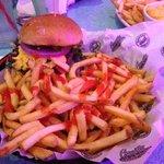 macho nacho burger