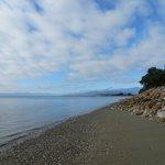 beach 2 minute walk from B&B