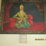 Portrait of Maharajah Ranjit.Singh.