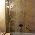 vetro del bagno