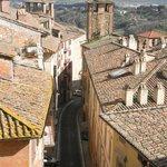 Medieval Tower & Via Alessi