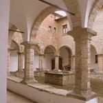 Cloister at monastery