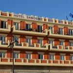 Hotel Samos from the street
