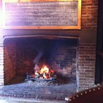 Specials board by the open fire
