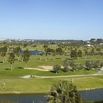 Panoramic view to onsite golf course & nature reserve
