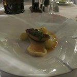 Entenleber mit Apfel-Essig-Butter