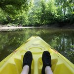kayaking along the mohican