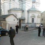 around the corner orthodox church
