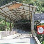 Covered Bridge Entrance