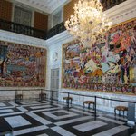 Knights hall - tapestry room