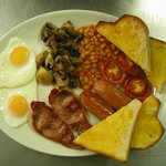The Jazz Cafe Big Breakfast (available all day)