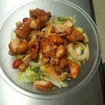 Large Buffalo Chicken salad