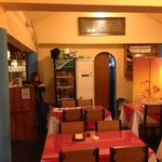COSY WARM RECEPTION AND A EXCELLENT INDIAN FOOD
