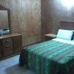 Habitación sencilla con 1 cama matrimonial