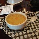 The potato chicken soup