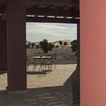Una terraza al desierto