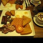 Cooked breakfast/brunch