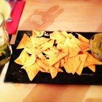 guacamole & nachos @ Karma