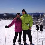 at the summit at Sugarloaf