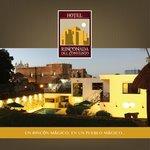 Hotel Rinconada del Convento de noche