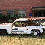 este carro no consumia gasolina trabajaba con energia solar :)