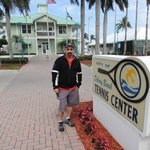 At the Delray tennis center