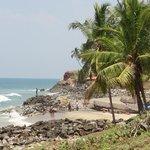 la petite plage a 5 minutes du oasis beach