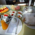 petit dejeuner en chambre