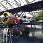 Dentro del hangar 7
