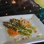 Asparagus Romesco Tapa