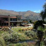 The Wanaka Speights Ale House is situated on Ardmore Street next to Bullock Creeek and across th