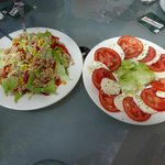 Yummy salads to share for starters