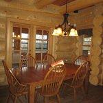 Bear model - dining room